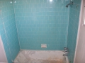 porcelain tub & tile walls (before)